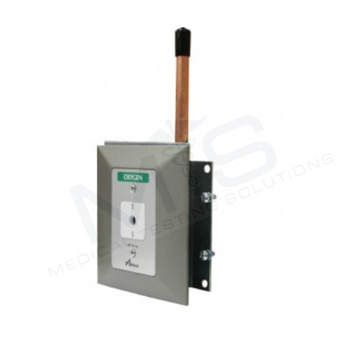 Amico Satin Finish Ohmeda Wall Outlet