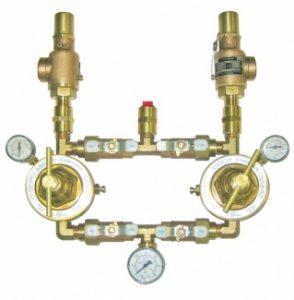 Medical Gas Dual Line Regulating Station