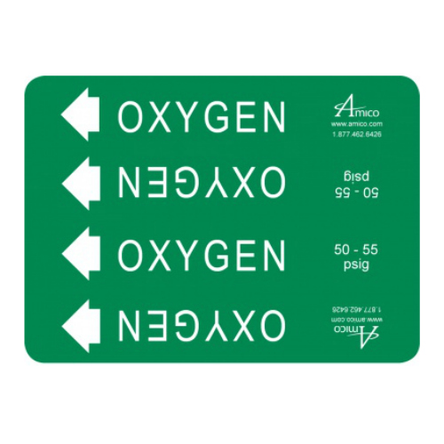 Pipe Marker Labels