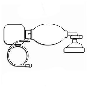 Accutron 38007,Manual Resuscitator with Bag, Valve, Mask & Oxygen Tube Big
