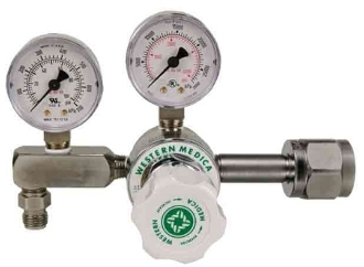 Diaphram Regulator with Adjustable Pressure (0-100 PSI) CGA 540 Big