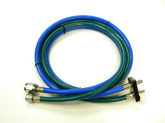 Dual Oxygen, Nitrous Oxide Hoses With Porter Quick Disconnect