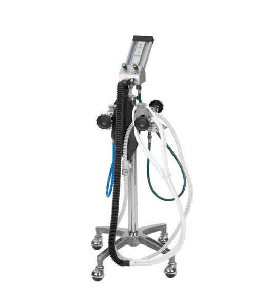 belmed portable oxygen  nitrous oxide flowmeter