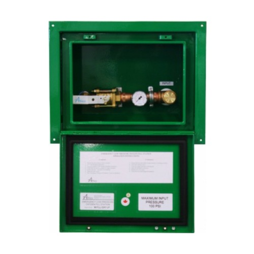 Recessed Emergency Oxygen Inlet Station (Low Pressure)