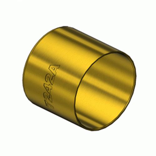 Amico 7242A, Round Brass Hose Ferrules