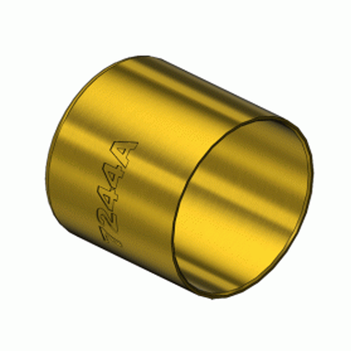 Superior 7244A, Round Brass Hose Ferrules Big