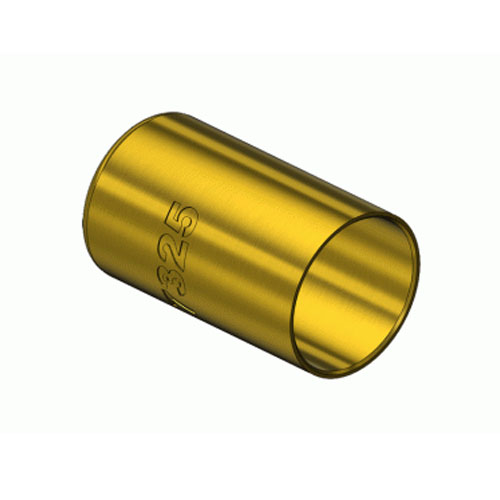Round brass hose ferrules medical testing solutions