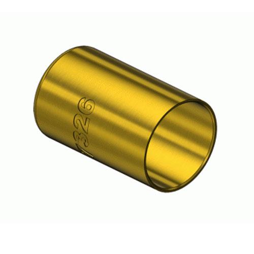 Western  7326, Round Brass Hose Ferrules