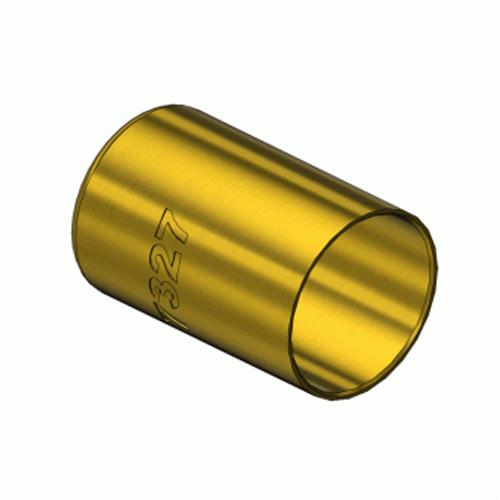 Western  7327, Round Brass Hose Ferrules