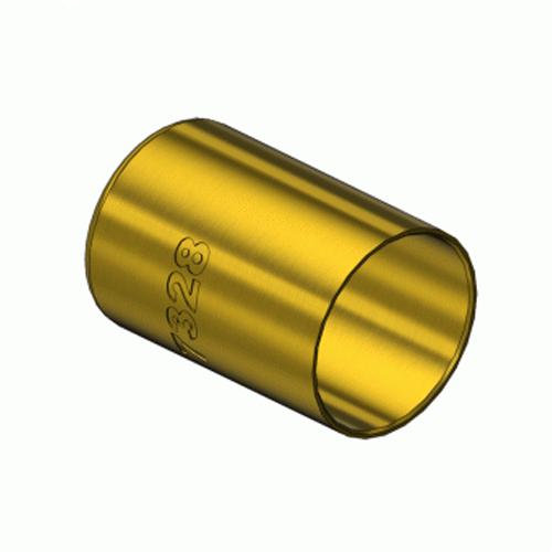 Western 7328, Round Brass Hose Ferrules