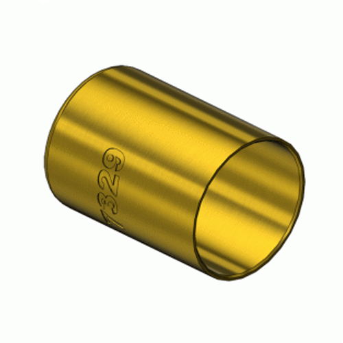 Western  7329, Round Brass Hose Ferrules