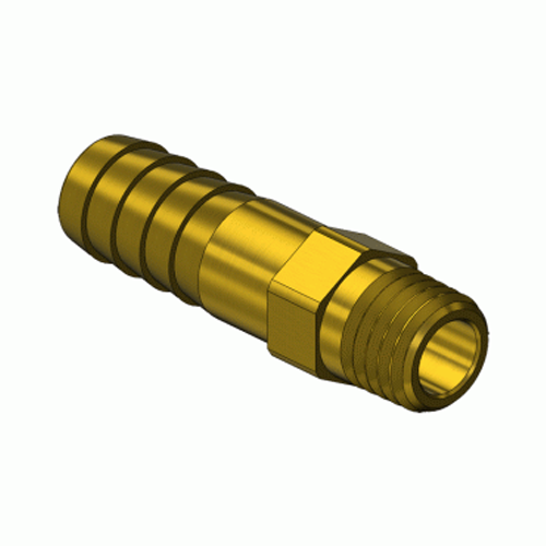 Superior A-105, Pipe Thread to Hose Barb Adaptor
