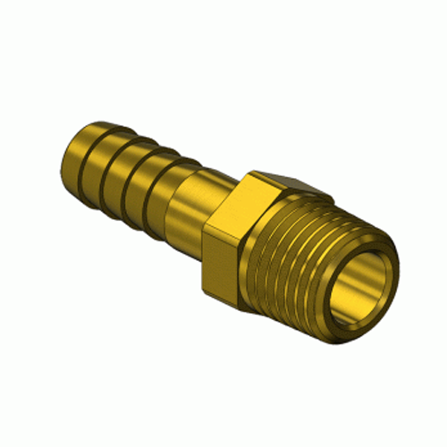 Superior A-114, Pipe Thread to Hose Barb Adaptor