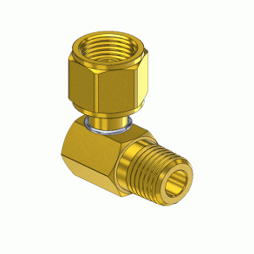 Superior A-194, 90 External Hose Coupler to Internal Swivel Nut