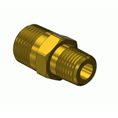 Superior B-239, Hex Brass Nipple