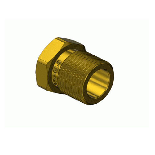 Superior BN-341-3, Hex Nut (BS-341-3 Oxygen, Inert Gases), H.P. Cylinder Connector