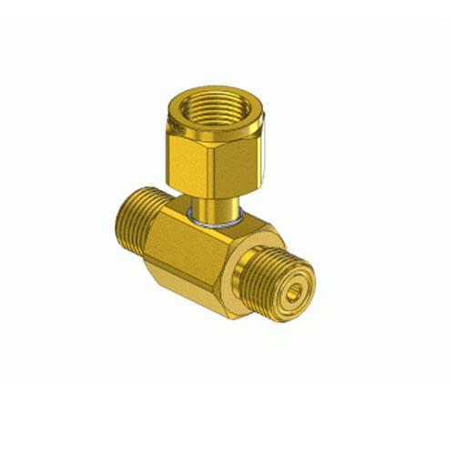 Superior C-2320, Brass CGA Manifold Coupler Tee