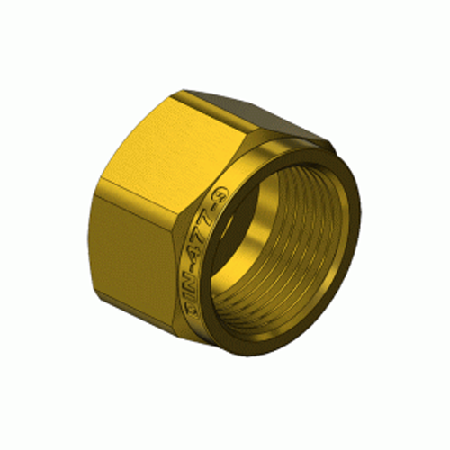 Superior DN-477-09, DIN-9 Oxygen Hex Nut