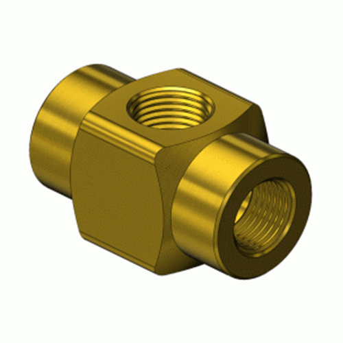 Superior GMF-3041, Brass Manifold Pipe Cross