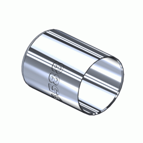 Western M-3588, Nickel Plated Hose Ferrule