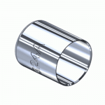 Superior M-624A, Nickel Plated Hose Ferrule