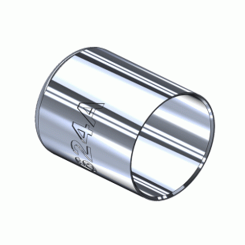 Superior M-624A, Nickel Plated Hose Ferrule Big