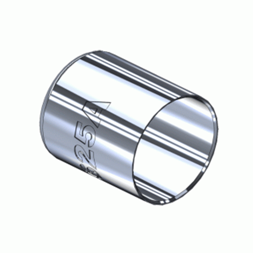 Superior M-625A, Nickel Plated Hose Ferrule