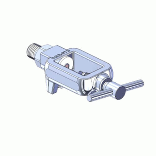 Superior MFY-973-4, Pin Indexed Yoke w/ T-Handle for CGA-973 Medical Gas Mixtures