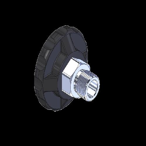 Superior MHN-067P, CGA-500 Nut HandTight