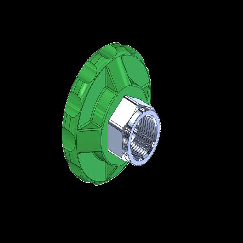 Superior MHN-071P, CGA-540 Nut HandTight
