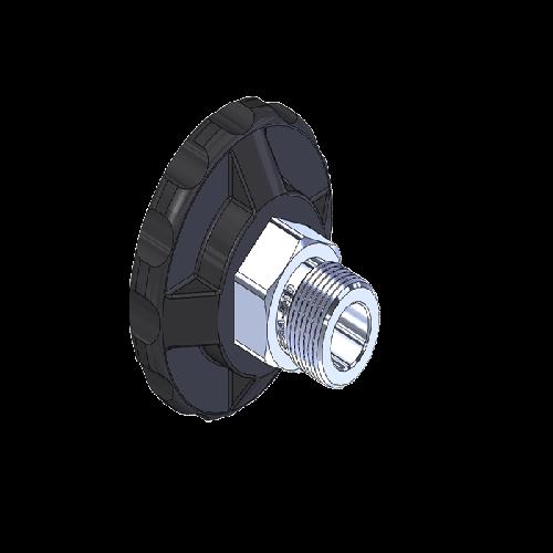 Superior MHN-073P, CGA-580 Nut HandTight