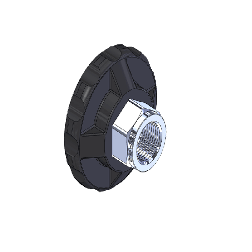 Superior MHN-082P, CGA-326 Nut HandTight