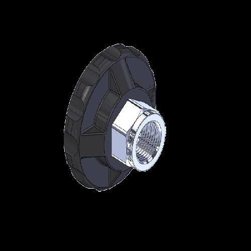 Superior MHN-084P, CGA-346 Nut HandTight