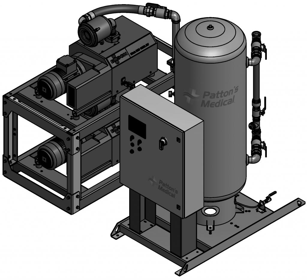 Amico 15 HP Duplex Claw Modular v-ccd-d-200p-ss-n-150-ms Big