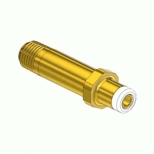 Superior NP-168T3, CGA-350 Nipple-Handtight Inlet