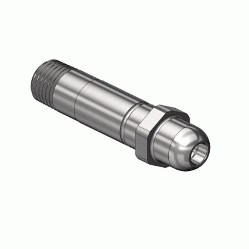 Superior NP-211SS, CGA-540 Nipple-Threaded Inlet