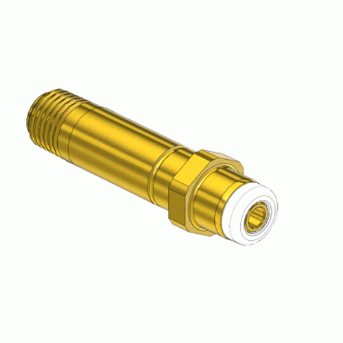 Superior NP-211T1, CGA-555 Nipple-Handtight Inlet