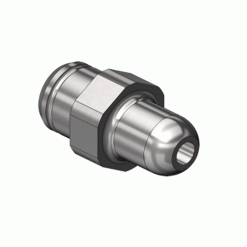 Superior NP-752C2SS, CGA-346 Nipple-Countersunk Inlet