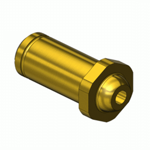 Superior NP-842C2, CGA-680 Nipple-Countersunk Inlet