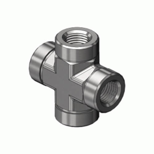 Superior PCR-4SS, Pipe Thread Fitting – Cross