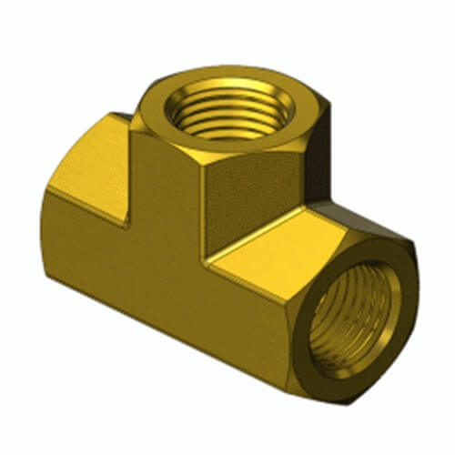 Superior PFT-2HP, Pipe Thread Fitting – Tee