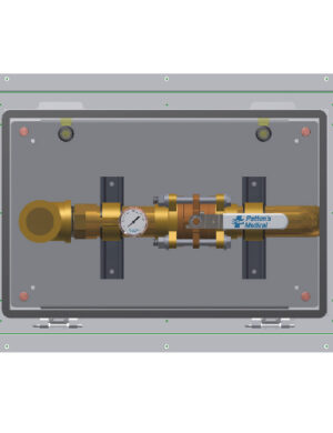 Recessed Emergency Oxygen Inlet Stations