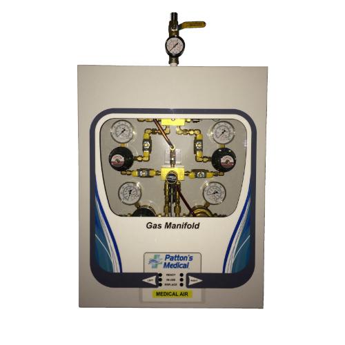 Dual Line Medical Gas Manifold Big