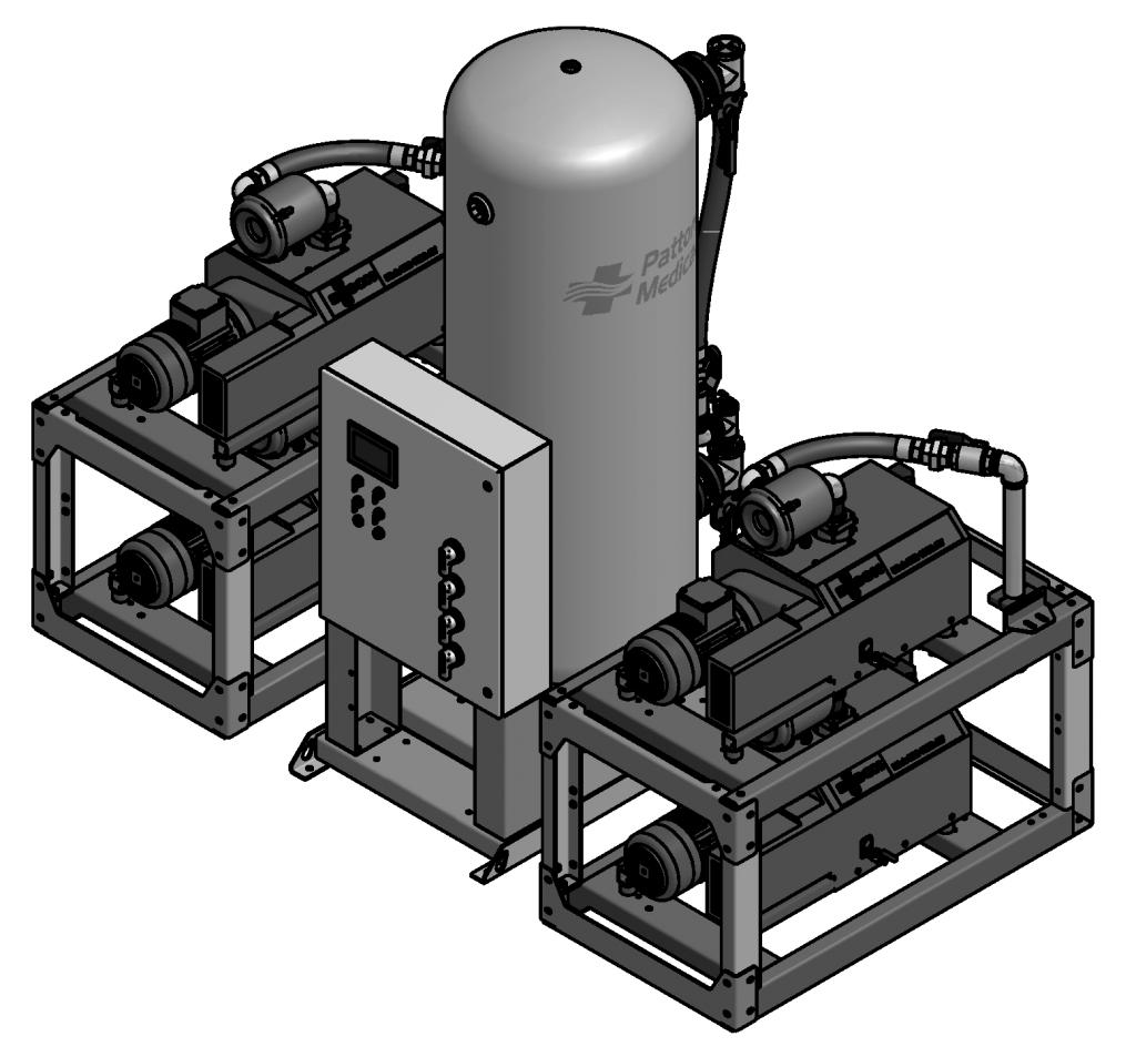 15 HP Quad Claw Modular Big