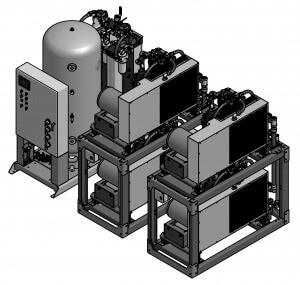 10 HP Quad Reciprocating Modular Big