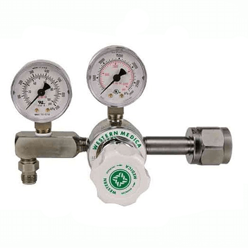 Western Two-Stage Oxygen Regulator with CGA-540 Connection, M2-540-15FG