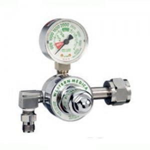 Western M1-580-P, Nitrogen Single Stage Preset 50 PSI Pressure Healthcare Regulator