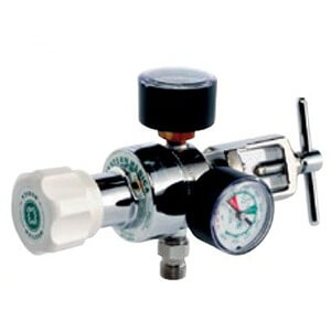 Western  Single-Stage Compact Regulator with CGA-870 Swivel Yoke Inlet, M1-870-8FG