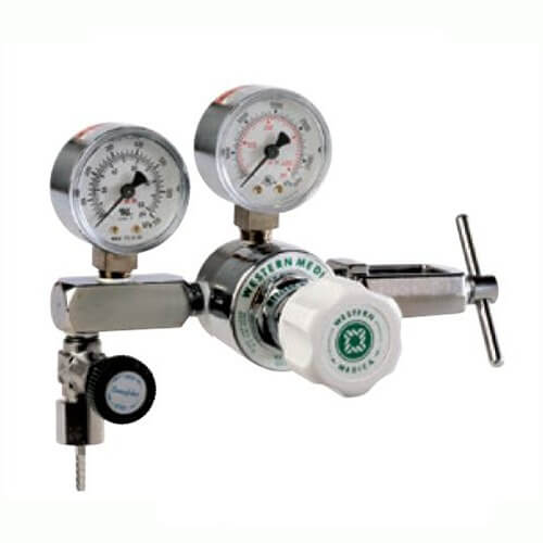 Western Single-Stage Clinical Instrument Regulator with 973 Yoke, M1-973-PGB