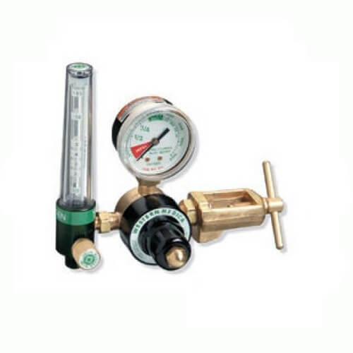 Western Single-Stage Flowmeter Oxygen Regulator with CGA-870 Yoke, NMR-870-15FM